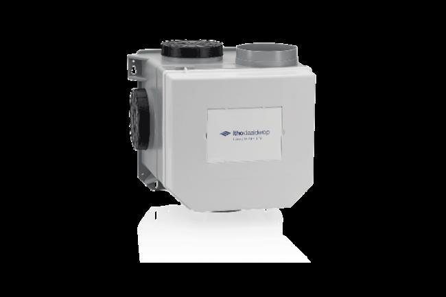 Mechanische ventilatiebox met afstandsbediening : Itho en Stork
